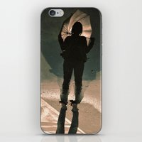 shadow shy iPhone & iPod Skin