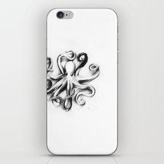 Flat Octopus iPhone & iPod Skin