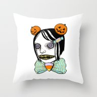 Throw Pillow featuring Cavity Cutie I by Ally Burke