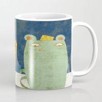 Cat-mouse Friendship Mug