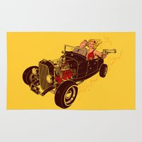 Bonnie & Clyde Rug