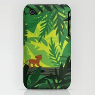 Lion King - Simba Patter… iPhone (3g, 3gs) Slim Case