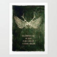 Dream within a Dream Art Print
