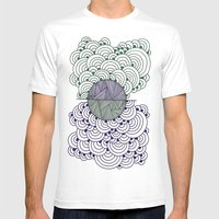 Shape 4 Mens Fitted Tee White SMALL