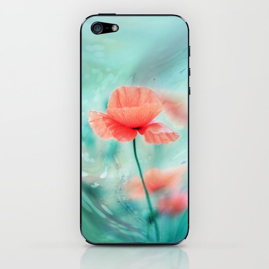 Fantasy Garden - Poppy Dream  iPhone & iPod Skin