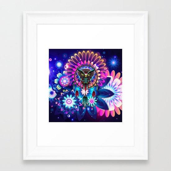 Owl Dream Framed Art Print