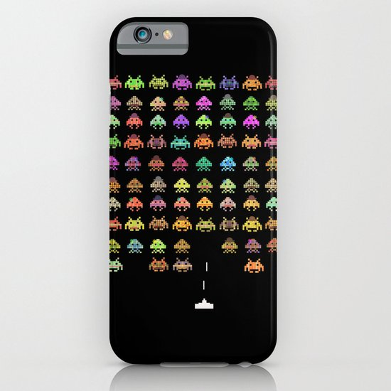 Fashionable Invaders iPhone & iPod Case
