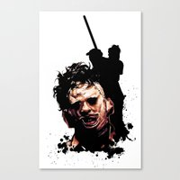 Leatherface: Monster Madness Series Canvas Print