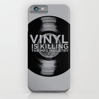 Vinyl is Killing the MP3 Industry iPhone 6 Slim Case