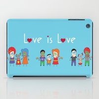 Love is Love Blue - We Are All Equal iPad Case