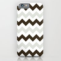 iPhone & iPod Case featuring Chevron Makes Me Happy by Megan Louise
