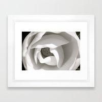 Colorless Beauty Framed Art Print