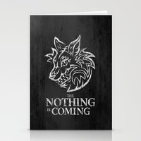 The Nothing Is Coming  Stationery Cards