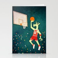 Unicorns Can Jump Stationery Cards