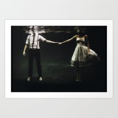 abyss of the disheartened : IX Art Print
