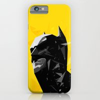iPhone & iPod Case featuring The Caped Crusader by Tracie Andrews
