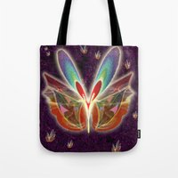 Fractal Butterfly Tote Bag