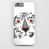 Moirè Tiger iPhone 6 Slim Case