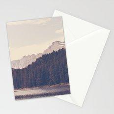 Morning Mountain Lake Stationery Cards