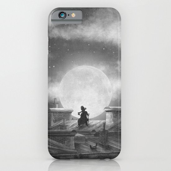 Rooftoppers (mono)  iPhone & iPod Case