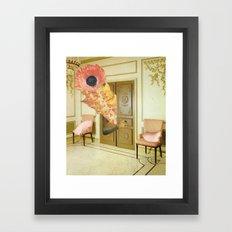 Open the door Framed Art Print