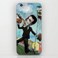 Superheroes SF - For the love of Coffee iPhone & iPod Skin
