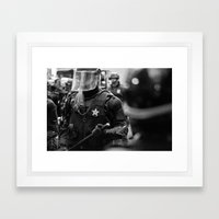 Swat Patrol Framed Art Print