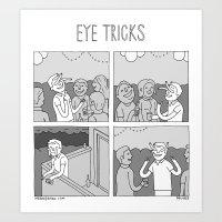 Moonbeard - Eye Tricks Art Print