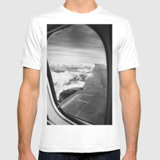 Plane Mens Fitted Tee White SMALL