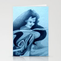 Hinauri's Fish Stationery Cards