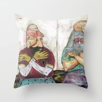 Special Room II Throw Pillow