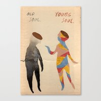 Old Soul, Young Soul Canvas Print