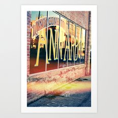 The Biggest Little City In The Middle, Ann Arbor Michigan Art Print
