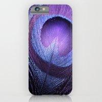 PURPLE PEACOCK iPhone 6 Slim Case