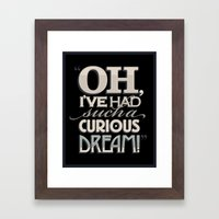 Curious Dream Framed Art Print