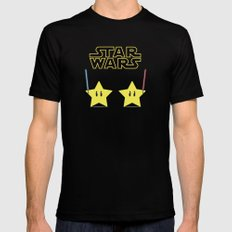 Star Wars Mens Fitted Tee Black SMALL