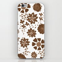 Free The Flowers iPhone & iPod Skin