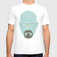 Walter White said White Mens Fitted Tee SMALL