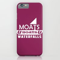 Moats and Boats and Waterfalls Graphic iPhone 6 Slim Case