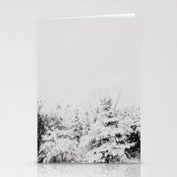 Winter Grey Stationery Cards