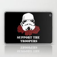 Support the Troopers Laptop & iPad Skin