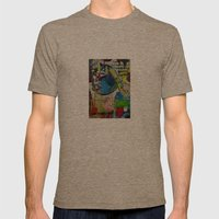 Basqui NOT #2 Mens Fitted Tee Tri-Coffee SMALL