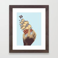 Arr! Arr! Framed Art Print