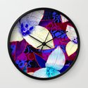 The Patriot Blooms Wall Clock
