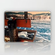 View Into Winter Scenery Laptop & iPad Skin