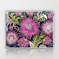 Shabby Flowers #1 Laptop & iPad Skin
