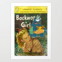 Byron And Backwoods Girl… Art Print