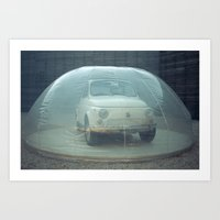 Bubble Car Art Print