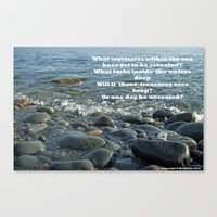 Mysteries of the Sea Canvas Print