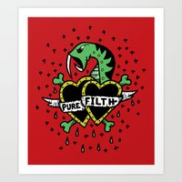 Pure Filth Art Print